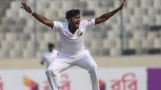 wi vs sl 1st test day 2 match report and highlights suranga lakmal got five for but still sri lanka on backfoot