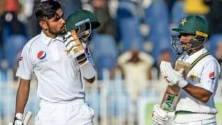 1st Test: Babar Azam, Shan Masood Hit Centuries to Put Pakistan on Top on Day 2