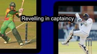 Mushfiqur Rahim and Angelo Mathews: Players who revel in captaincy