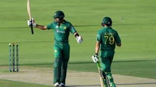 PAK set WI huge target in 3rd ODI; Azhar, Azam smash records