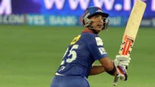 Delhi Daredevils score 152/5 against Rajasthan Royals in IPL 2014