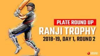 Ranji Trophy 2018-19, Plate roundup Round 2, Day 1: Uttarakhand, Puducherry start strong