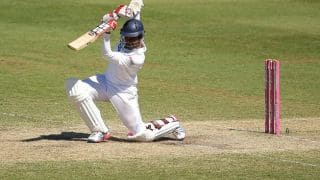 Sri Lanka crawl to 131 for 2 at Lunch on Day 3 in 1st Test against New Zealand at Christchurch