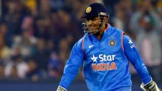 Dhoni not to get official game time before India vs England 1st ODI