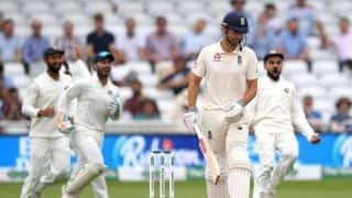 India vs England, 3rd Test: Ishant Sharma triggers England's slump to 84/4 at lunch