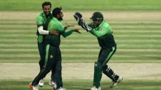 Pakistan add to Sri Lanka's batting woes; bundle them for 102 in 1st T20I