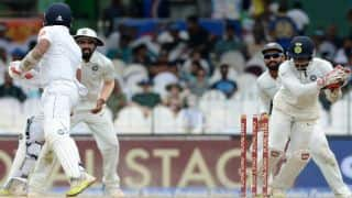 Live Cricket Score, India vs Sri Lanka, 3rd Test, Day 1: STUMPS