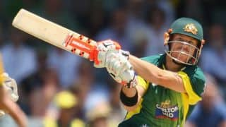 Australia vs South Africa 4th ODI: David Warner out for 4 in chase of 268