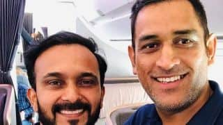 MS Dhoni, Kedar Jadhav, Rohit Sharma depart for ODI series in Australia