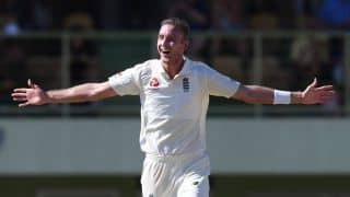 Third Test hat-trick a goal for Stuart Broad after 19-wicket day