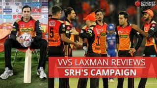 VVS Laxman: Disappointing end, but another campaign to savour for Sunrisers Hyderabad