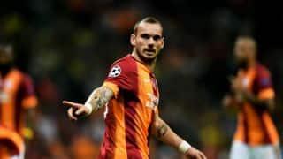 Wesley Sneijder to miss Netherlands' friendlies due to rib injury