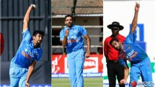 Is the trio of Jasprit Bumrah, Barinder Sran, Dhawal Kulkarni answer to India's perennial pace hunt?