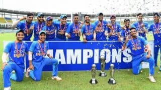 India beat Bangladesh by 5 runs in thriller to lift U19 Asia Cup for seventh time