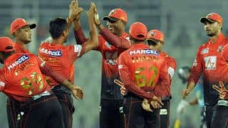 DD 131/6 in Overs 20 | Live Cricket Score Comilla Victorians vs Dhaka Dynamites, Bangladesh Premier League (BPL) 2015 Match 17 at Chittagong:Victorians win by 10 runs