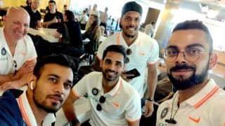 आयरलैंड के लिए रवाना हुई टीम, बुधवार को टी-20 मुकाबला