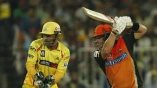 IPL 2014: Sunrisers Hyderabad score 145/5 against Chennai Super Kings