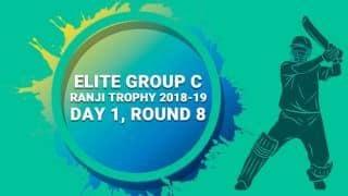 Ranji Trophy 2018-19, Round 8, Elite C, Day 1: Tripura make positive start against Jharkhand