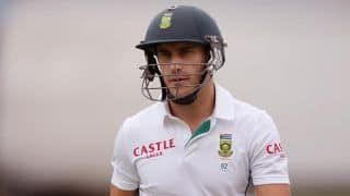 Faf du Plessis angers aggressive Australians on Day 3 of 3rd Test
