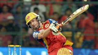 IPL 2016: AB de VIlliers 25-ball fifty for Royal Challengers against Delhi Daredevils