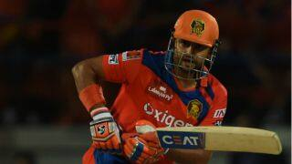 Brendon McCullum, Suresh Raina dismissed by Mohit Sharma against KXIP in IPL 2016