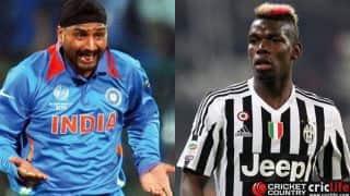 Harbhajan Singh makes fun of Paul Pogba's hairdo; sends in funny 'KarwaChauth' wishes