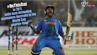 Yuvraj Singh derails Australia's glorious World Cup run; India bury ghosts of 2003