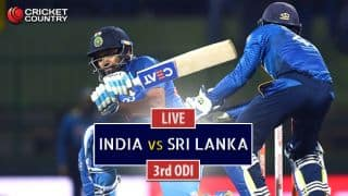Live Cricket Score, India vs Sri Lanka, 3rd ODI at Pallekele: IND win