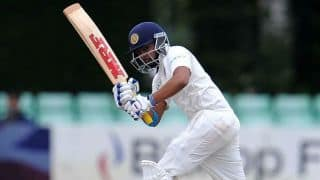 IND A vs NZ A: Prithvi Shaw, Agarwal, Vihari, Parthiv patel hit fifties on opening day