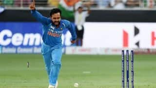 Asia Cup: India captain Rohit Sharma lauds Kedar Jadhav the bowler