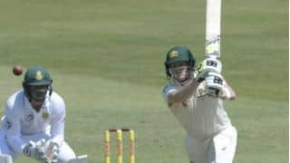 Smith, Warner score fifties as Australia, South Africa share honours on Day 1