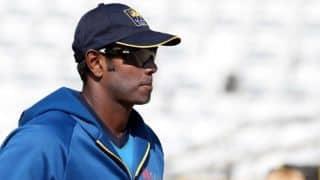 मैथ्यूज बोले- 16 ओवर और बल्लेबाजी करते तो स्थिति कुछ और होती