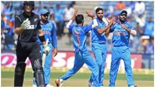 भारत और न्यूजीलैंड की टीमें कानपुर पहुंची