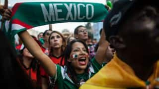 FIFA World Cup 2014: Mexico fans go delirious with joy after Brazil draw