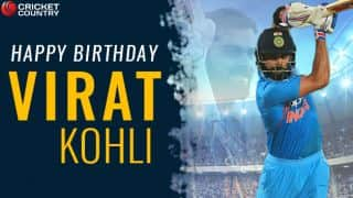 Happy birthday, Virat Kohli: The Indian captain turns 29