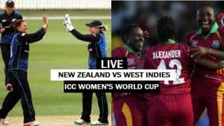 Live cricket score, NZ vs WI, ICC Women's World Cup 2017: NZ win by 8 wickets