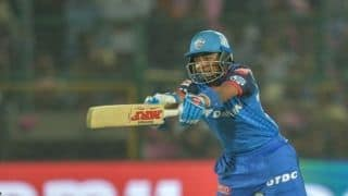 Happy that I am performing my role of providing good starts: Prithvi Shaw
