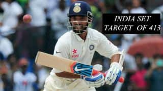 India declare at 325/8; set Sri Lanka target of 413 runs to win 2nd Test at Colombo
