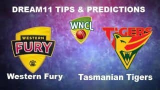 WF-W vs TAS-W Dream11 Team Western Fury vs Tasmanian Tigers Match 4 WNCL 2019-20 Aussie Women's ODD – Cricket Prediction Tips For Today's Match at Brisbane