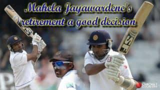 Mahela Jayawardene's retirement from Test cricket makes sense for numerous reasons