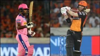 IPL 2019, Sunrisers Hyderabad vs Rajasthan Royals, highlights: David Warner's show, Sanju Samson's century