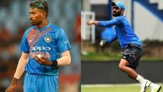ICC World XI vs West Indies: Hardik Pandya, Dinesh Karthik confirm participation