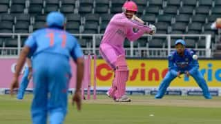 India vs South Africa, 1st ODI at Johannesburg