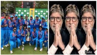 Amitabh Bachchan apologises to Indian Women cricket team; gets trolled by Twitterati