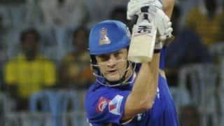 Live Cricket Score IPL 2014: Sunrisers Hyderabad (SRH) vs Rajasthan Royals (RR) match 4 of IPL 7 at Abu Dhabi