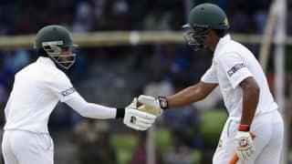 Live Cricket Scorecard, Bangladesh vs Pakistan 2015: 1st Test at Khulna, Day 2