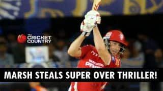 Shaun Marsh, David Miller star as Kings XI Punjab win thrilling Super Over against Rajasthan Royals in IPL 2015