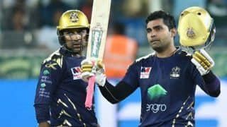 PSL 4: Umar Akmal leads Quetta Gladiators to six-wicket win over Peshawar Zalmi