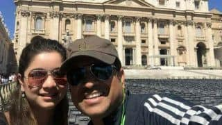 PHOTO: Sachin Tendulkar spends time with family in Vatican City