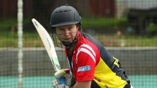 Geraint Jones and other cricketers who appeared in a country's maiden ODI after representing another country